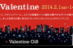 東京ミッドタウンのバレンタイン