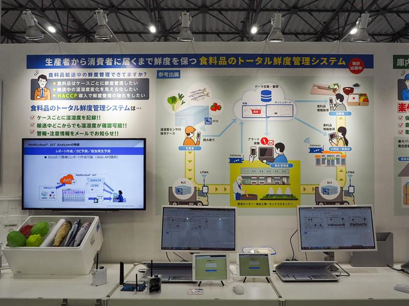 東芝情報システム フードディストリビューション展 パネルデザイン